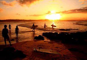 Surfing i Australien - Højskole i Australien - Grupperejser for unge - HÖJSKOLENDK
