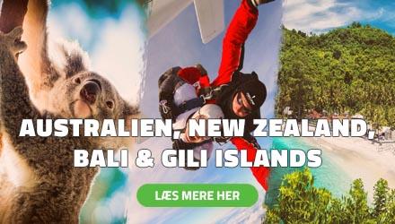 Højskole i Udlandet - Australien, New Zealand, Bali & Gili Islands - HÖJSKOLENDK
