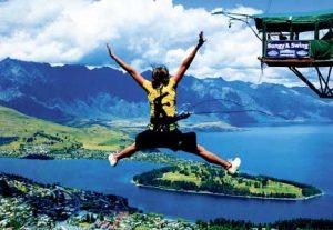 Adventure NZ, Bungy Jump - HÖJSKOLENDK, Højskole i Udlandet