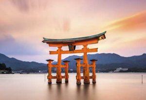 Adventure i Japan - HÖJSKOLENDK, Højskole i Udlandet - Miyajima Floating shrine