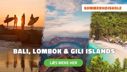 Sommerhøjskole i Udlandet - Bali, Lombok & Gili Islands - HÖJSKOLENDK