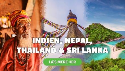 Højskole i Udlandet - Indien, Nepal, Thailand & Sri Lanka - HÖJSKOLENDK