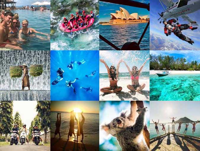 Instagram - Australien, New Zealand, Bali & Gili - Højskole i Udlandet