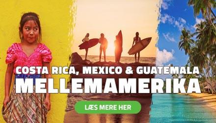 Højskole i Mellemamerika - Costa Rica, Mexico & Guatemala - HÖJSKOLENDK