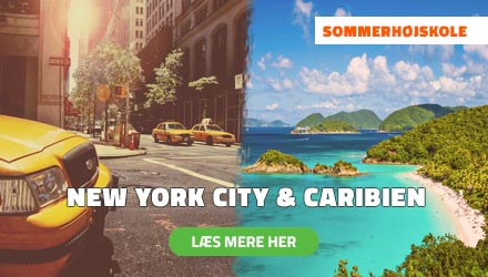 Sommerhøjskole i udlandet - New York City & Caribien - HÖJSKOLENDK