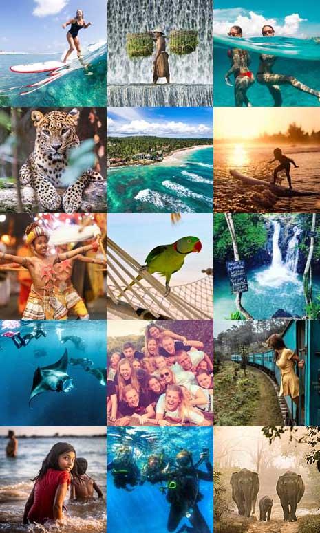Højskole på Maldiverne, Sri Lanka, Bali og Gili Islands, HÖJSKOLENDK