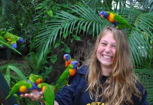 Papegøjer i Australien - Højskole i Udlandet - HÖJSKOLENDK