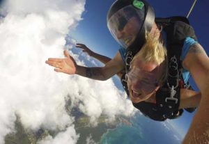 Skydiving i NZ - HÖJSKOLENDK, Højskole i Udlandet