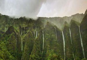 Vandfald på Hawaii - HÖJSKOLENDK, Højskole i Udlandet